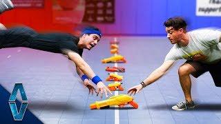NERF Dodgeball Challenge!