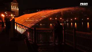Amazing Fountain in Ternopil / Дивовижний фонтан у Тернополі