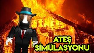 🔥 de simulation d'incendie 🔥 (en anglais) Simulateur d'incendie (en anglais) Roblox Anglais