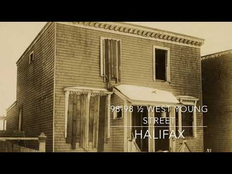 W.G. MacLaughlan, West Young Street, Halifax, NS after the Halifax Explosion