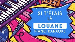 Louane  - Si t'étais là - Instrumental (Karaoké)