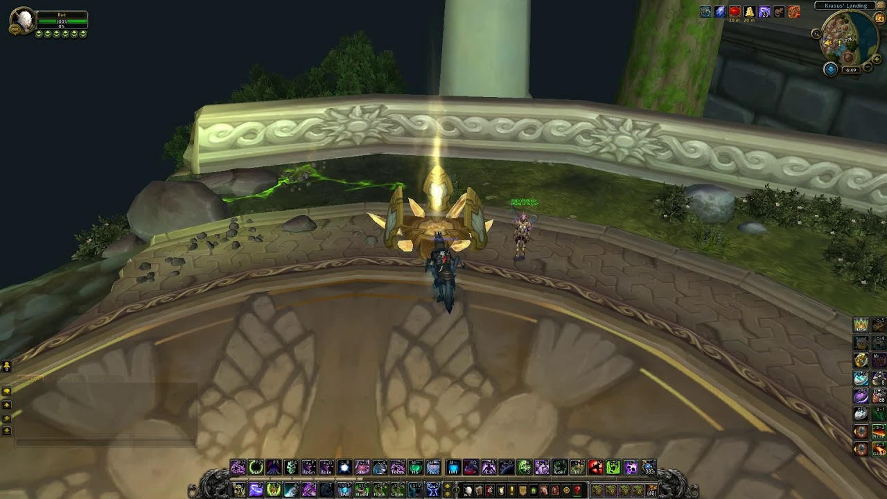wow how to start argus campaign