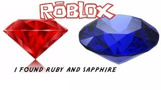 roblox in azure found some ruby and sapphire