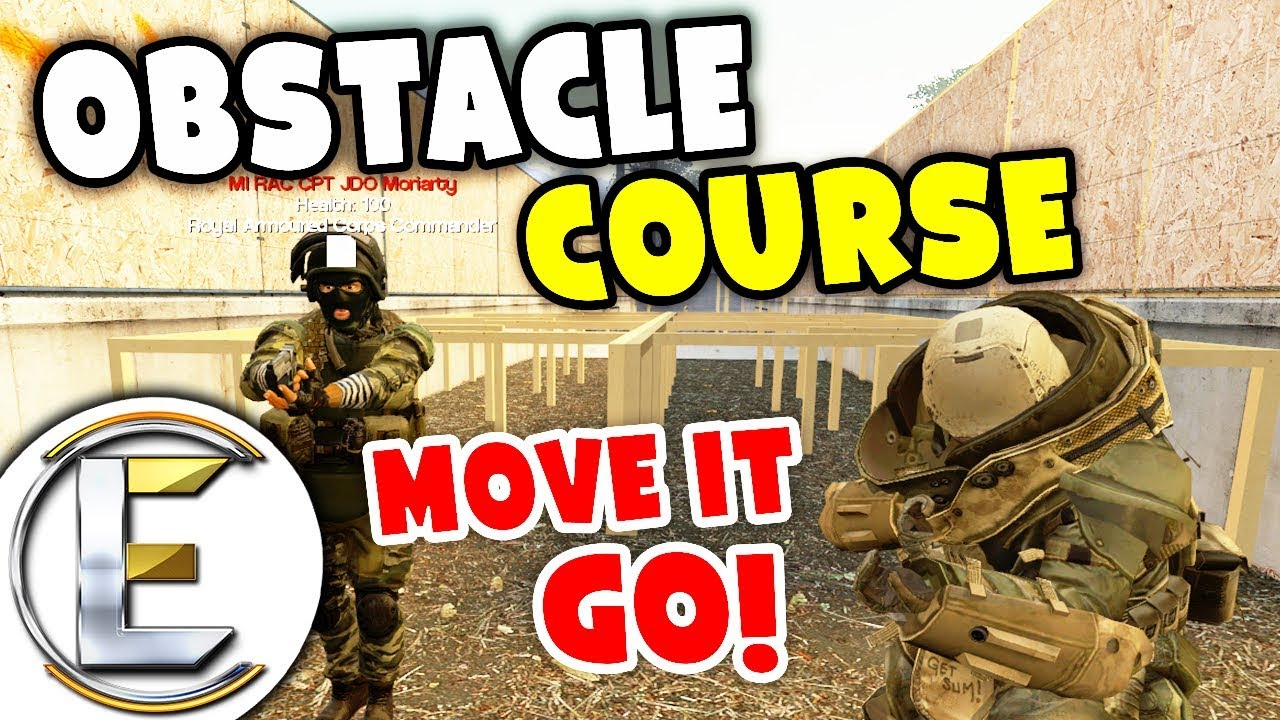 Military Obstacle Course - Military RP Life EP4 (General Gets Sniped Have A  Lot Of Arguments)