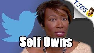 Joy Reid Self Owns In 3 Tweets