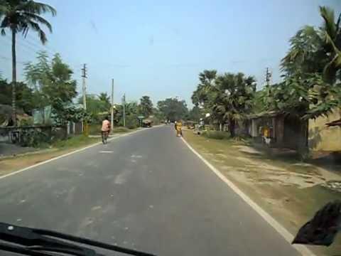 Baharampur by pass National Highway 34 (NH-34). Road from sargachi to baharampur, Murshidabad.