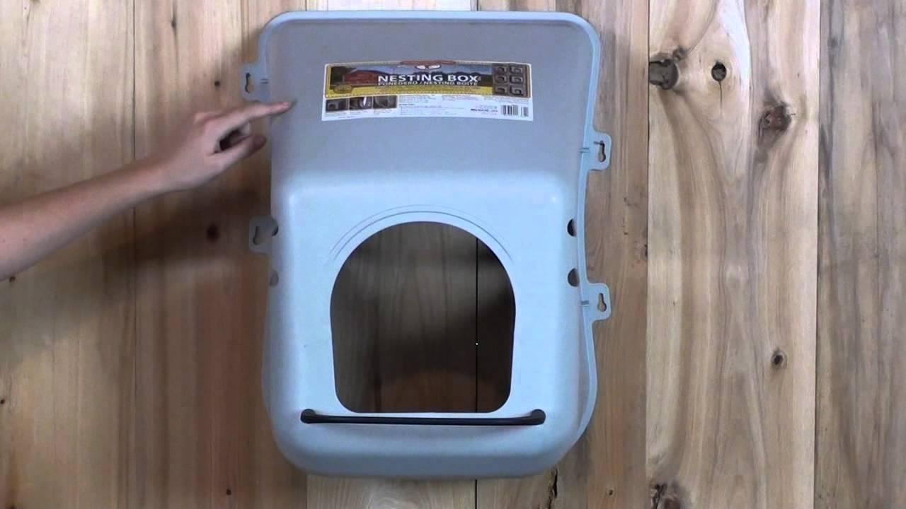 how to make a bluetit nesting box