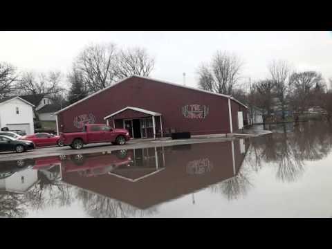 EDN VIDEO: Kaskaskia River Flood - Vandalia, IL