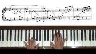 Granados 8 Valses Poeticos No. 2 Piano Tutorial