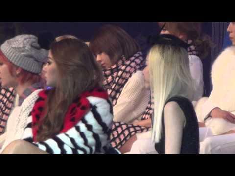 20131229 2NE1 CL & Dara @ SBS Gayo Daejun
