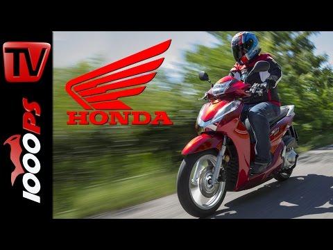 2015 | Honda SH300i Test | Action, Details, Fazit