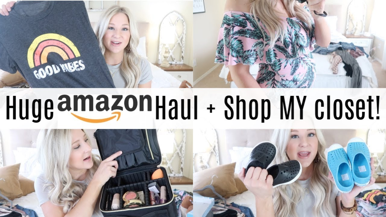 5ef0a976a8 HUGE AMAZON HAUL 2019 | AMAZON FASHION, MATERNITY, ACCESSORIES | SHOP MY  CLOSET!