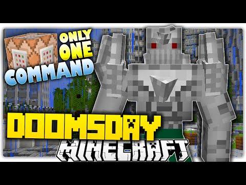 Minecraft 1.9 | HARDEST BOSS YET!? Doomsday Boss Battle Custom Command
