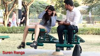 PRANK on Hot Girl🔥Gone So Majedaar❤ || New Prank In India || Suren Ranga