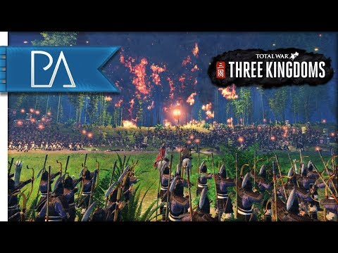THREE KINGDOMS AMBUSH BATTLE  Three Kingdoms: Total War Gameplay
