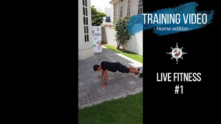 Live Fitness Session 1