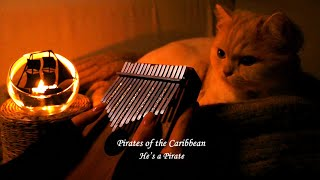 Pirates of the Caribbean, He's a Pirate - Kalimba cover.