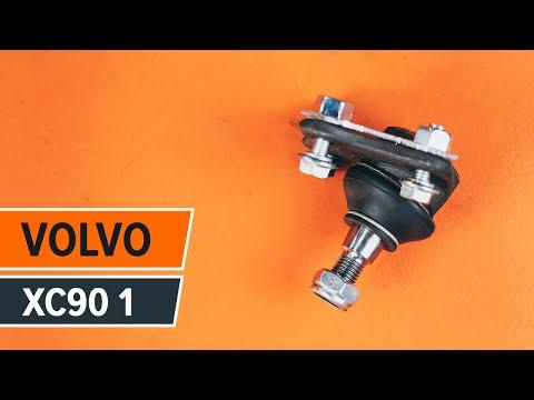 Cómo cambiar la rótula de suspensión delantera en VOLVO XC90 1 [INSTRUCCIÓN]