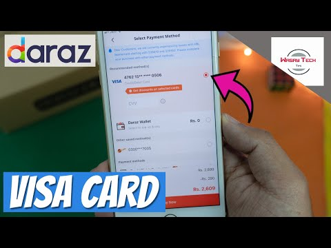How to Buy Product from Daraz using VISA Debit Card Payment Method