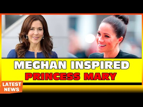 Meghan inspired Crown Princess Mary of Denmark with new style bun | NPN Entertainment