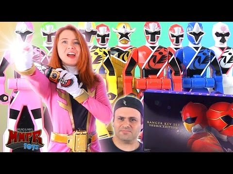 Gokaiger Ranger Key Set 2000th Edition Review! (Power Rangers Ninja Steel)