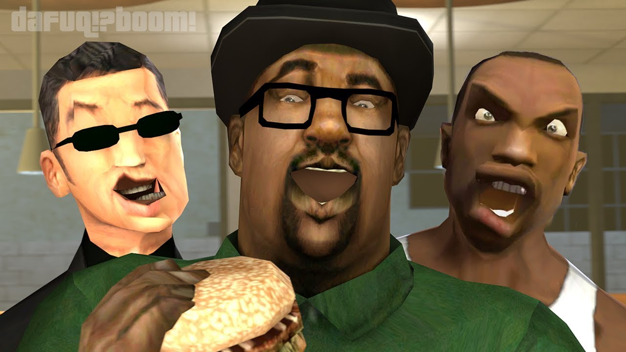 Big Smoke Meme Quote Gaming Gta San Andreas Long Sleeve T