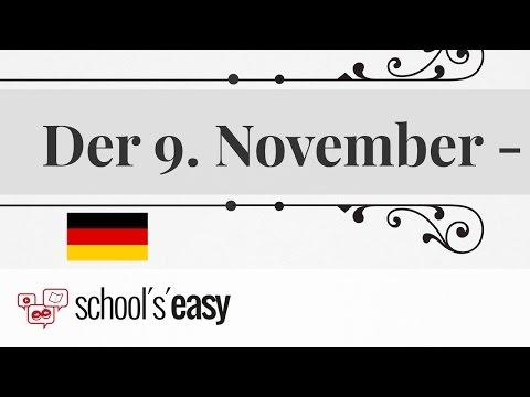 Der 9. November - Ein Schicksalstag für Deutschland