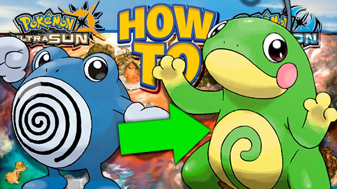 98ec6290 HOW TO Evolve Poliwhirl into Politoed in Pokemon Ultra Sun and Moon ...