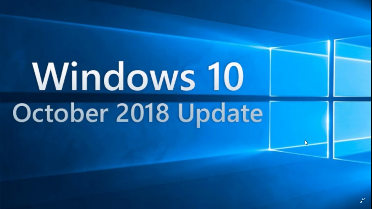 oct win 10 update