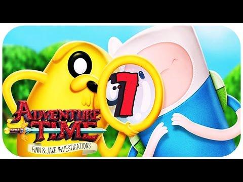 Hora De Aventuras Finn Jake Investigadores Español Parte 7