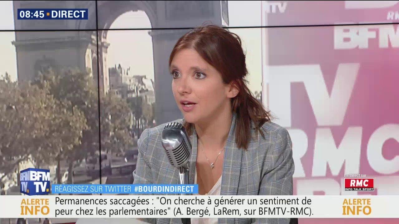 Aurore Bergé était dans Bourdin Direct à 8H35 sur RMC et BFMTV
