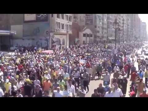 أمواج بشرية  تكسر الحصار عن القائد ابراهيم 30/08/2013