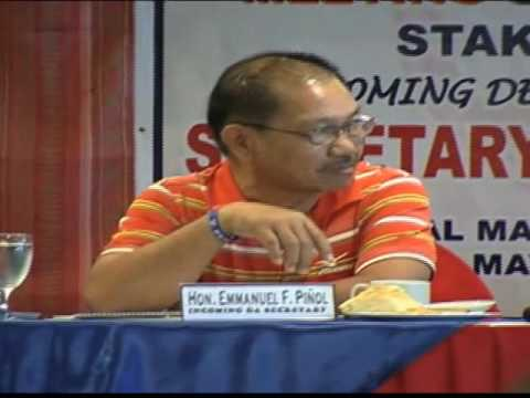 Incoming agri chief eyes background check on officials
