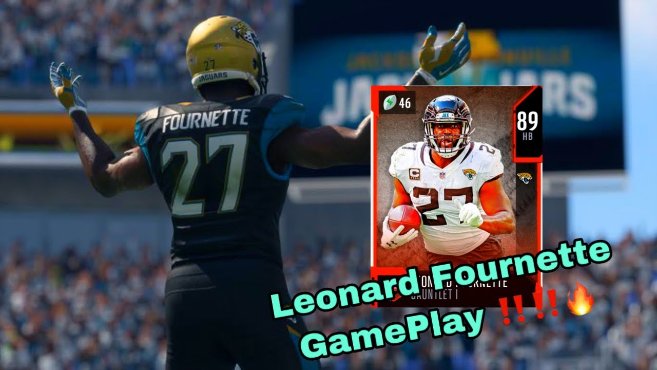Gauntlet Leonard Fournette Is A Tank Madden 20 Gameplay Youtube