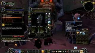 World of Warcraft : Wrath of the Lich KIng - Death Knight Gameplay (HQ)