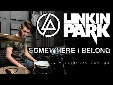 LINKIN PARK - Somewhere I Belong - Drum Cover