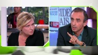Babeth Lemoine - Eric Zemmour , le clash! - C à vous - 06/10/2014