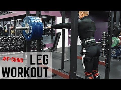 Leg Workout W/ Fabian GL | TRÄNINGS VLOGG