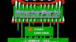 Monster Party (NES) Music - Level 1 World Of Horror