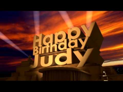 Happy Birthday Judy Cake Images