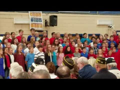 Arab Elementary School Veterans Day 11/11/2016