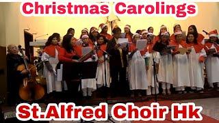 Cristmas Caroling at St. Alfred Church Hk