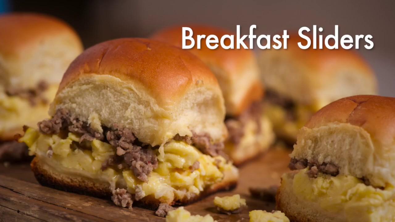 Breakfast Sliders Youtube