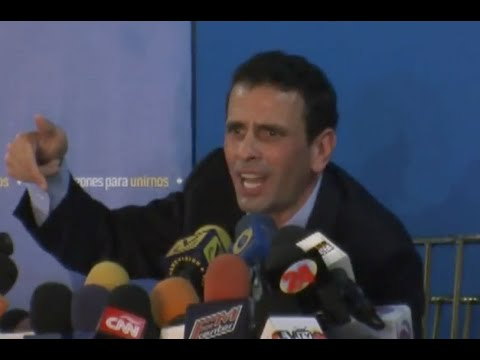 Venezuela: Capriles Radonski llama a tomar la calle