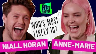 'I've never known any boybands...' Niall Horan & Anne-Marie Play Who's Most Likely To?
