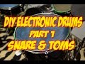 Acoustic to Electronic Drum Conversion Part 1