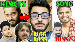 BB, Ashish & Harsh Reacts To CarryMinati Bigg Boss 14 News | Amit Bhadana Song, Amir Siddiqui, Logan