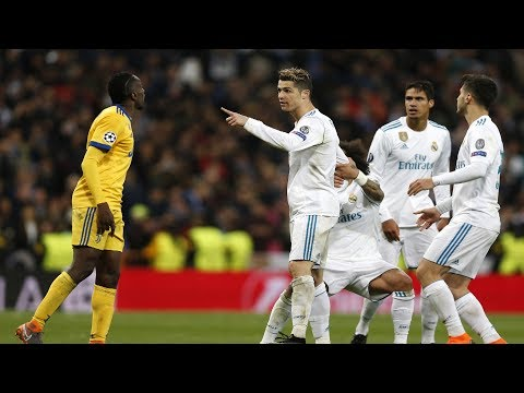 Cristiano Ronaldo Fighting For His Teammates ● Defending & Supporting Them