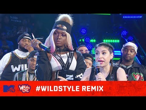 Justina Valentine & Teresa Topnotch vs. Julia Young & Kandi 🙌🔥| Wild N Out | #WildstyleREMIX