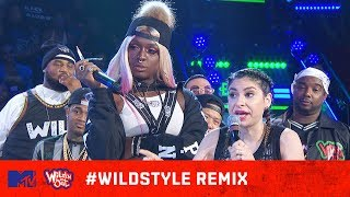 Justina Valentine & Teresa Topnotch vs. Julia Young & Kandi 🙌🔥| Wild 'N Out | #WildstyleREMIX